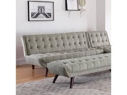 Modern Futon Sofa by Coaster Natalia Mid Century Modern Futon Dunk U0026 Bright Furniture