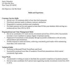 sample of skills based resume download skills based resume