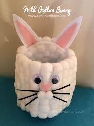 bunny easter basket milk gallon easter bunny basket easter baskets easter
