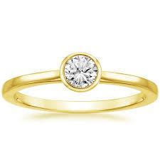 bezel engagement ring bezel diamond ring brilliant earth