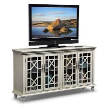 grenoble media credenza ivory american signature furniture