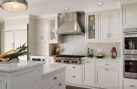 kitchen backsplash ideas white cabinets trash cans baking pastry