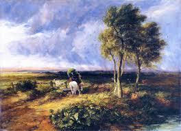 david cox wind rain and sunshine 1845 david cox wikiart org