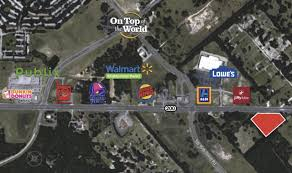 Map Of Ocala Fl 7 Ac Prime Comm On Sr 200 Dg1028