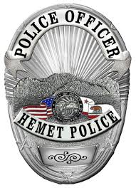 hemet ca official website our badge