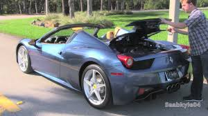 how much 458 spider 2015 458 italia spider start up test drive and in