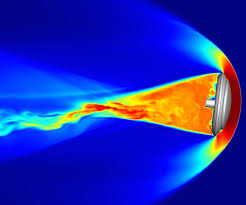 supercomputer simulation of magnetic field loops on the sun nasa