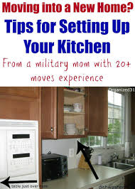 how to set up your kitchen moving into a new home how to set up your kitchen organizing