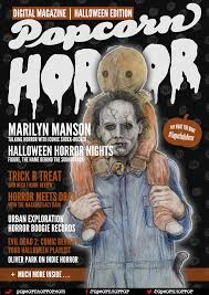 halloween playlist packed halloween issue of popcorn horror magazine launches october