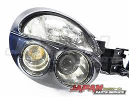 bugeye subaru 02 03 subaru impreza wrx sti version 7 oem headlights with