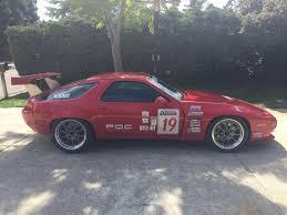 80s porsche 928 928 race car fender modifcation to fit