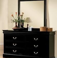 debonair black nightstand black mirrored nightstand black