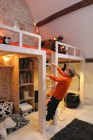 Bunk Beds Built Into Wall I Like Loft Bed Being Built Into Wall Bigger Than The Bed So Its
