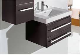 28 Bathroom Vanity by Virtu Antonio 28 Inch Wall Mounted Bathroom Vanity Set