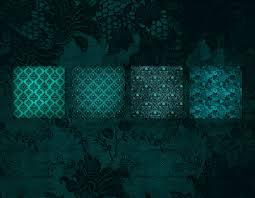 halloween textures teal gothic digital paper aqua blue green vintage textures goth