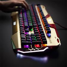 Keyboard Mechanical iron mechanical keyboard thinkgeek