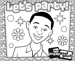 fresh beat band coloring pages kiss band coloring pages coloring