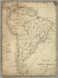 south america map buy map of south america david rumsey historical map collection
