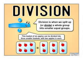 division by chunking teaching ideas