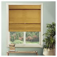 Roman Shades Over Wood Blinds Blinds U0026 Shades Target