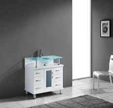 virtu usa vincente 32 single bathroom vanity in white bathtubs plus