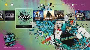 ps4 themes harley quinn free suicide squad theme raids the ps4 push square