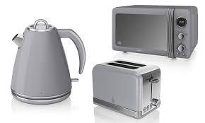Kettle Toaster Offers Swan Three Piece Kitchen Set Groupon