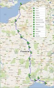 Map Of Provence By Car To Provence Best Route Travel And Tourism In Provence