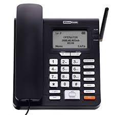 telephone bureau maxcom téléphone fixe gsm de bureau à carte sim fonction sms