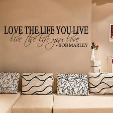 Bob Marley Wallpaper For Bedroom Proverbs Admonition Wall Sticker Wallpaper Lover U0027s Words Love The