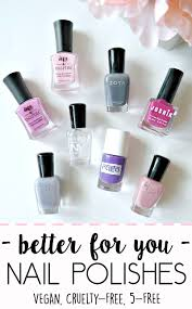 the world u0027s safest nail polish brands that aren u0027t full of cancer
