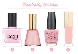 shades of light pink pink nail polish best brands neon light pale baby barbie