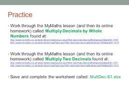 decimal multiplication u0026 division ppt video online download