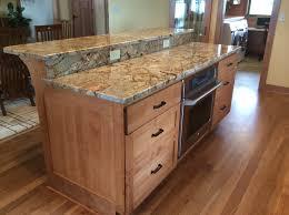 birch kitchen island birch cabinet island w raised granite top kitchen remodeling