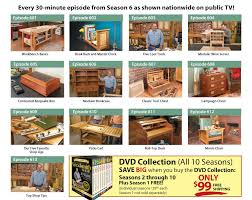 Woodworking Tv Shows Online by Woodsmith Shop Tv Show Dvds