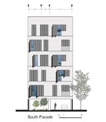 residential building elevation gallery of andarzgoo residential building ayeneh office 18