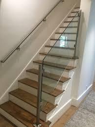 Wall Mounted Handrail Glass Railing U2014 Capozzoli Stairworks