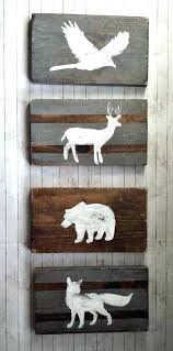 Rustic Nursery Decor Rustic Baby Bedroom Woodland Nursery Decor Reclaimed Wood Set