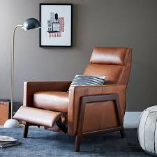 contemporary leather recliner chairs home interior furniture