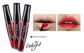 toni moli tonymoly lip tint review tony tint delight korea makeup