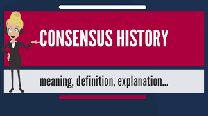 what is consensus history what does consensus history