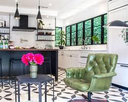 tile flooring for kitchen ideas 15 best transitional cement tile floor kitchen ideas houzz