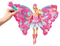 barbie fairies mermaids flower u0027 flutter fairy barbie doll