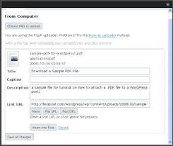 tutorial wordpress com pdf how to attach a pdf to a wordpress post lexipixel blog