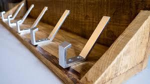 rustic coat racks with shelves rag u0027n u0027 bone brown