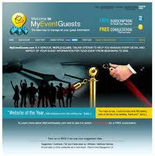 free homepage for website design modern serious web design for platinum event management by elo
