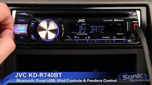 jvc kd r740bt car stereo ipod iphone u0026 android ready w