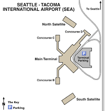 seattle airport terminal map seattle tacoma international airport airport maps maps and