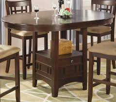 round counter height table set 52 counter height round dining table sets universal furniture blair