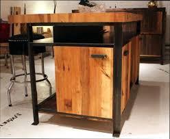 cuisine bois acier meuble cuisine acier meuble cuisine acier buffet bois brut aclement